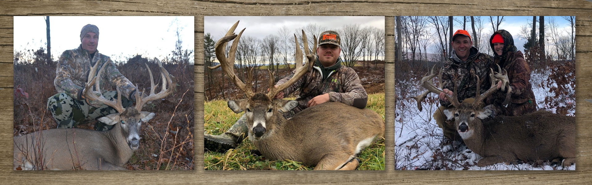 Trophy Whitetail Deer Hunting in Pennsylvania on Private Land